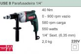 USE 8 - Parafusadeira 1/4